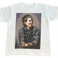 T-Shirt Blanc Enfant Acrophobie
