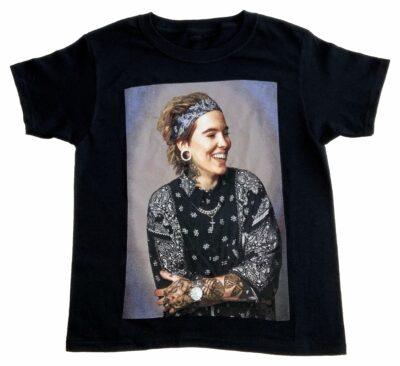 T-Shirt Noir Enfant Acrophobie