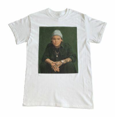 T-Shirt Blanc Acrophobie
